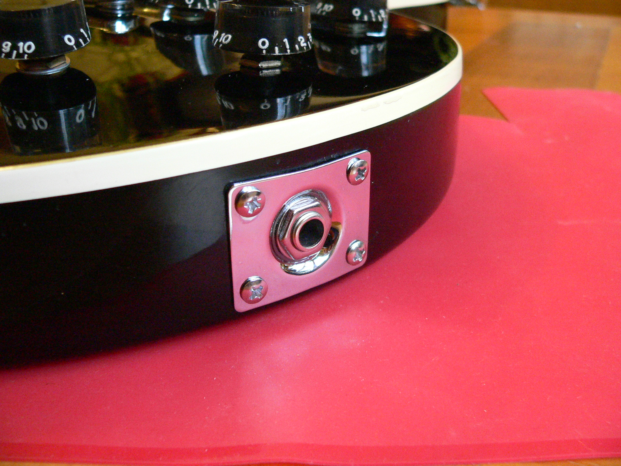 How to fit a Jack Socket to a Les Paul electric guitar